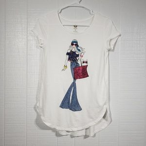 Total Girl Graphic Tee C44